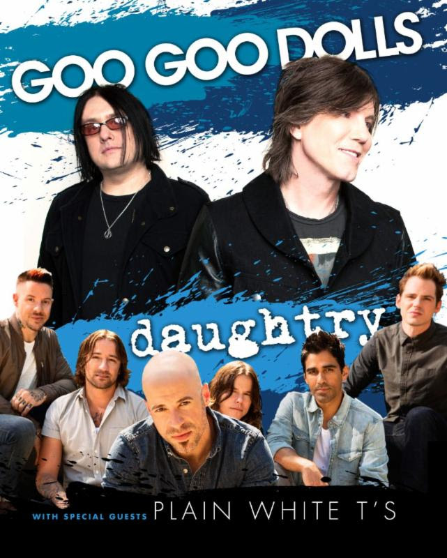 GOO GOO DOLLS & DAUGHTRY to Hit the Road This June