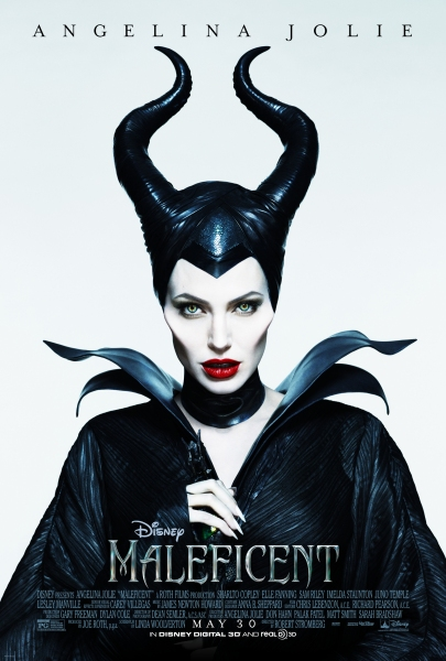 Photo Flash: First Look - Angelina Jolie in New MALEFICENT Poster Art