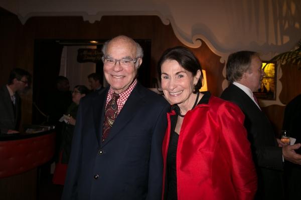 Mike Strunsky, Gershwin Family trustee, and his wife Jean Strunsky Photo