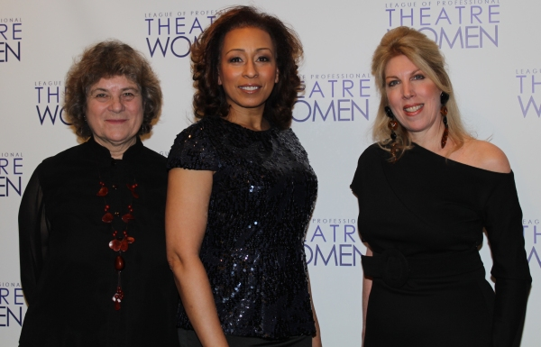 Maxine Kern, Tamara Tunie and Lorca Peress Photo