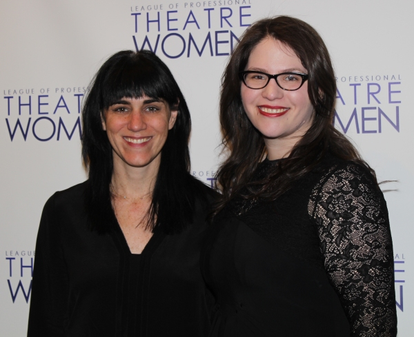Leigh Silverman and Katherine Kovner