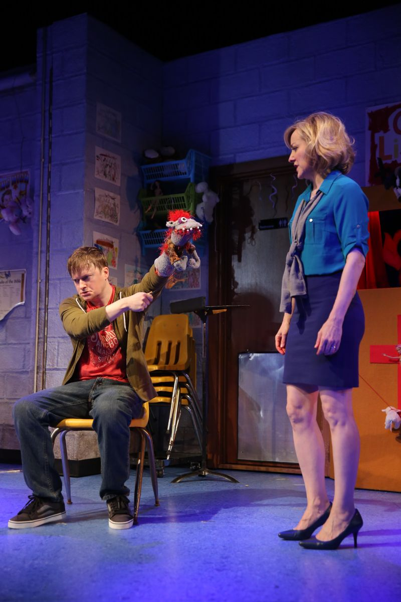 BWW Reviews:  HAND TO GOD is a Chilling Puppet Drama