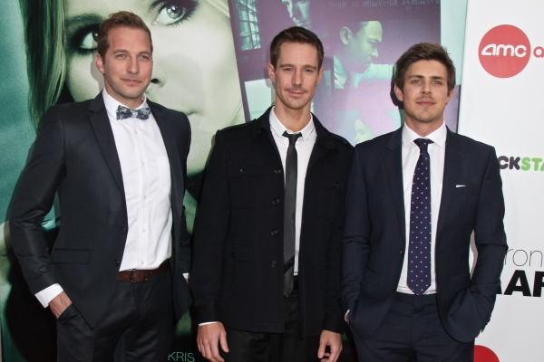 Ryan Hansen, Jason Dohring and Chris Lowell