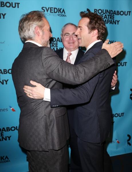 Sam Mendes, Todd Haimes and Alessandro Nivola