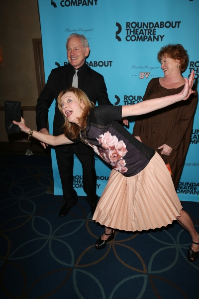 Julie White, Victor Garber and Becky Ann Baker