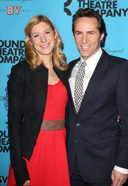Jenni Barber and Alessandro Nivola