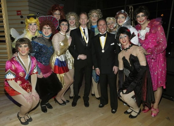 Photo Flash: Neil Patrick Harris & More Honor David Heyman with Hasty Pudding's Order of the Golden Sphinx