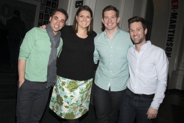 Joseph Leo Bwarie,  Jenny Kanelos, Rory O''Malley, Gerold Schroeder Photo