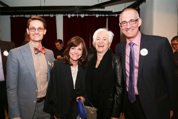 Photo Flash: Sally Field, Rajiv Joseph, Phylicia Rashad and More at Lark Benefit Honoring Edward Albee