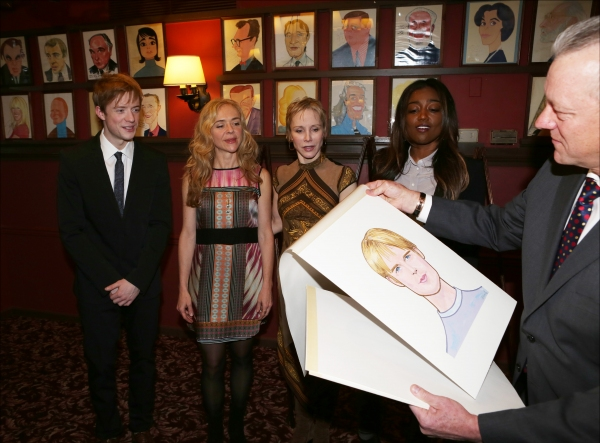 Photo Coverage: Sardi's Celebrates PIPPIN! Thomas, d'Amboise, Miller and Jones Get Caricatures