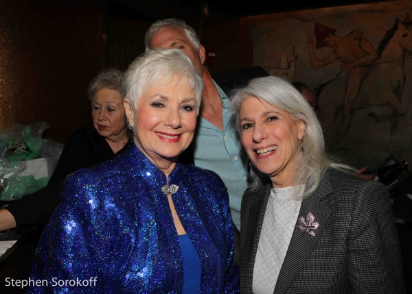Photo Coverage: Patrick Cassidy Visits Shirley Jones at Cafe Carlyle
