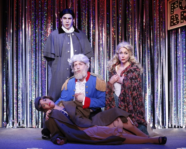 Photo Flash: FORBIDDEN BROADWAY COMES OUT SWINGING! Spoofs PIPPIN, KINKY BOOTS, MATILDA & More!