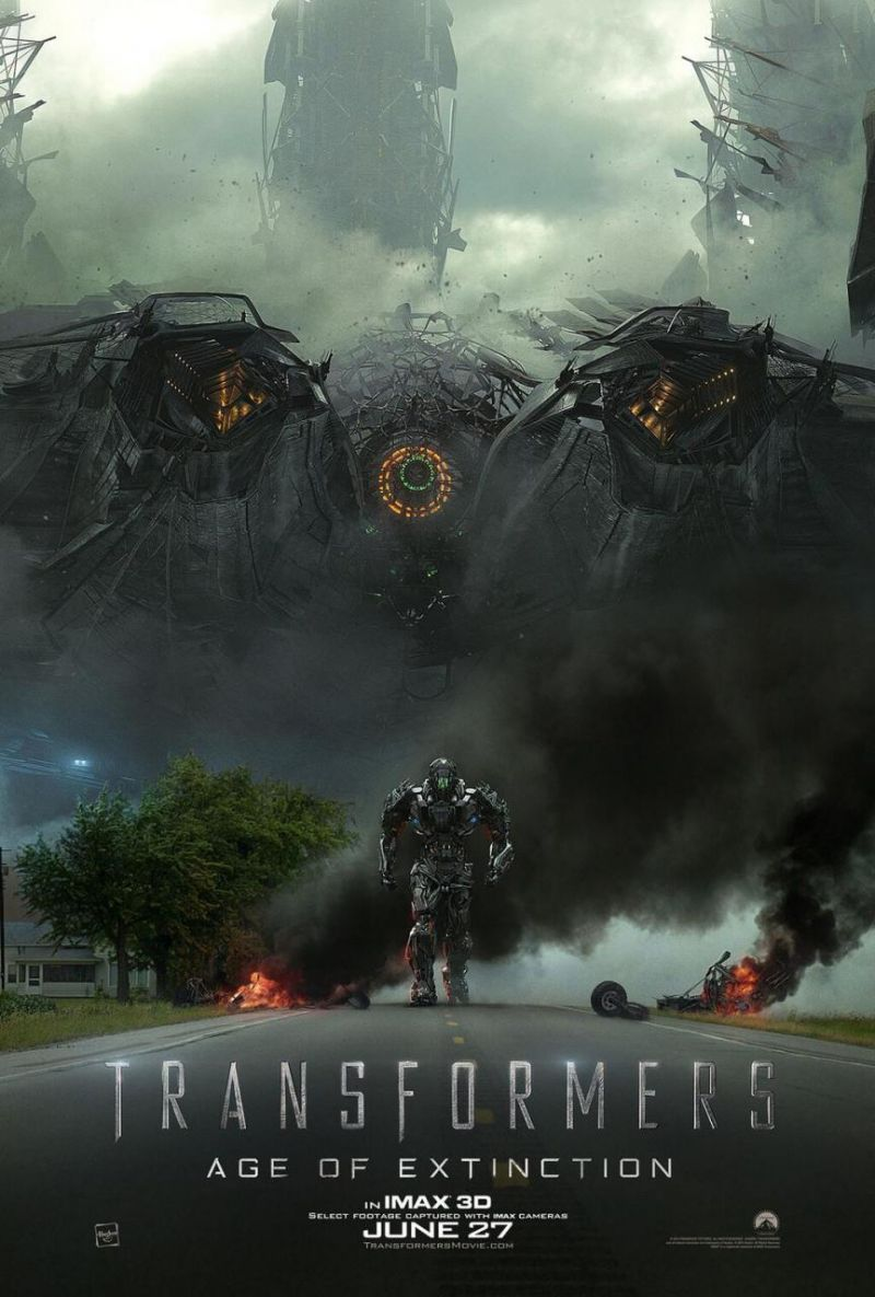 FIRST LOOK - IMAX Poster Art for TRANSFORMERS: AGE OF EXTINCTION
