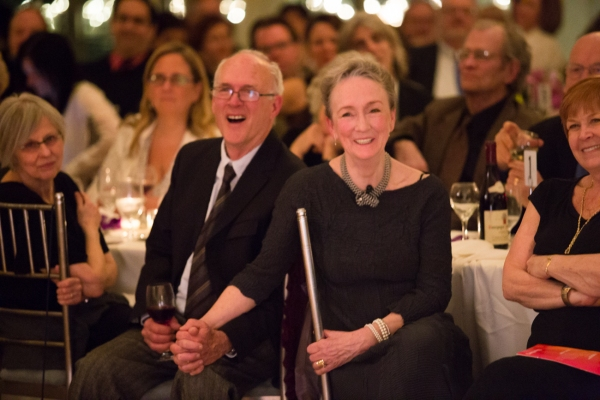 Kathleen Chalfant with Husband Henry Chalfant
