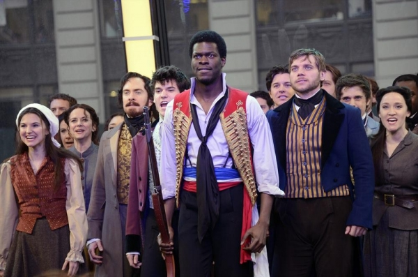 Photo Flash: Cast of Broadway's LES MISERABLES Perform on GMA