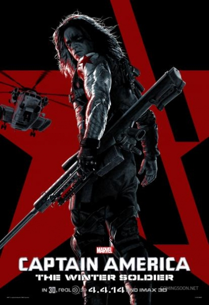 Photo Flash: First Look - All-New CAPTAIN AMERICA Stylized Character Posters