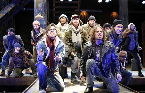 Photo Flash: First Look at Paramount Theatre's RENT, Now Playing