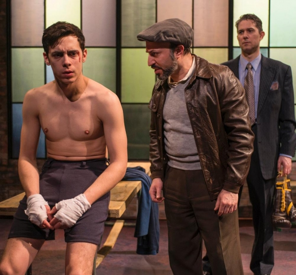 Photo Flash: First Look at Griffin Theatre's GOLDEN BOY, Now Playing at Theater Wit
