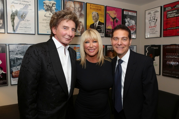Barry Manilow, Suzanne Somers, Michael Feinstein