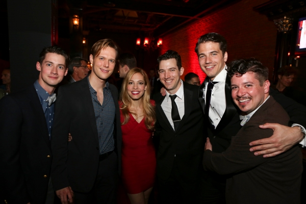 Chris Dwan, Will Taylor, Leigh Ann Larkin, Matt Bailey, Douglas Williams, Will Blum pose