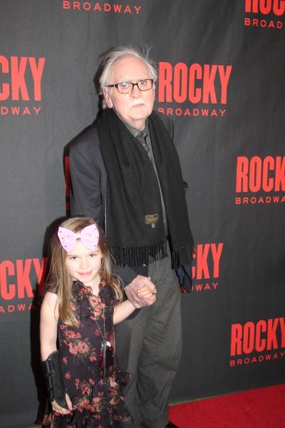 Thomas Meehan and his granddaughter Emma