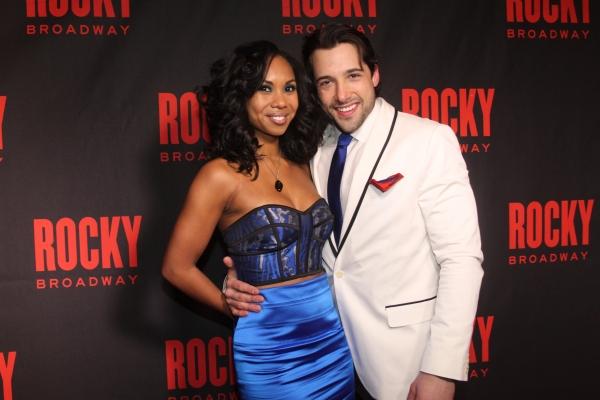 Lauren Jackson and Vince Oddo