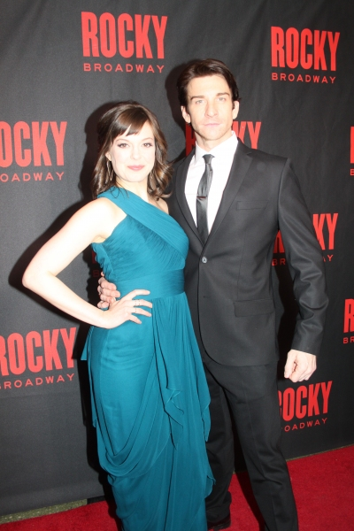 Photo Coverage: ROCKY's Broadway Cast and Creative Celebrate Opening Night!