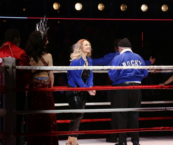 Photo Coverage: Go In the Ring with the Cast of ROCKY! Inside the Opening Night Curtain Call!