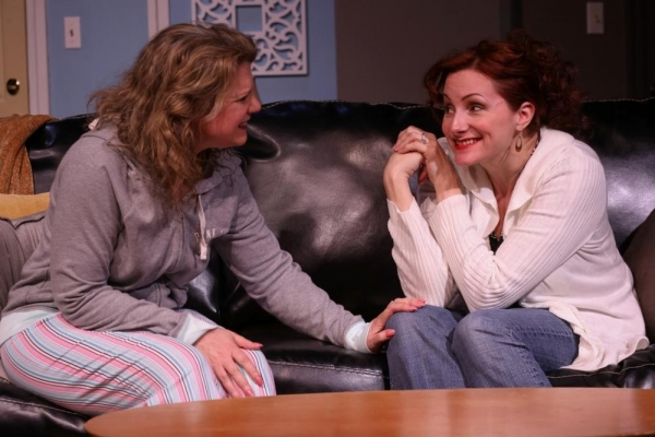 Brynne Garman as Jennie and Holly Rose as Faye