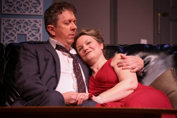Robert Alan Barnett as George and Brynne Garman as Jennie