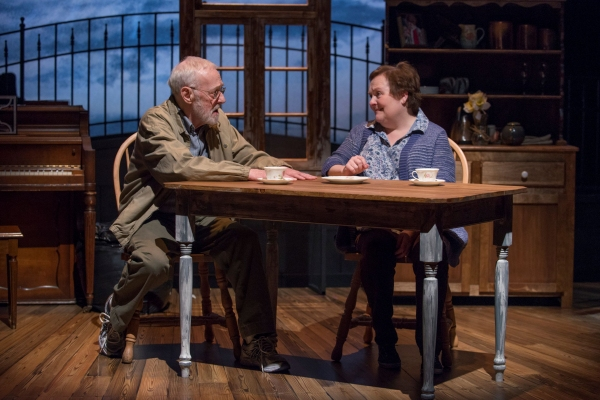 Photo Flash: First Look at John Mahoney and Penny Slusher in Northlight Theatre's CHAPATTI