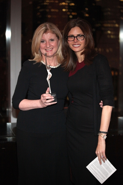 Arianna Huffington, Desiree Gruber