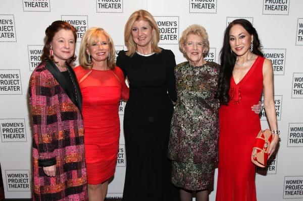 Julie Crosby, Sharon Bush, Arianna Huffington, Joan Vail Thorne, Lucia Hwong-Gordon Photo