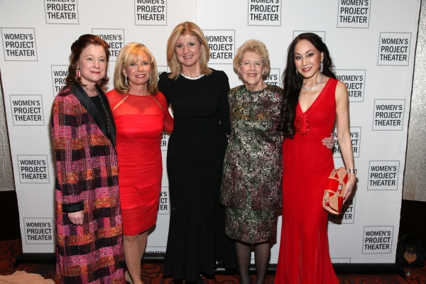 Photo Flash: Arianna Huffington, Sharon Bush & Joan Vail Thorne Honored at Women's Project Theater's Women of Achievement Gala