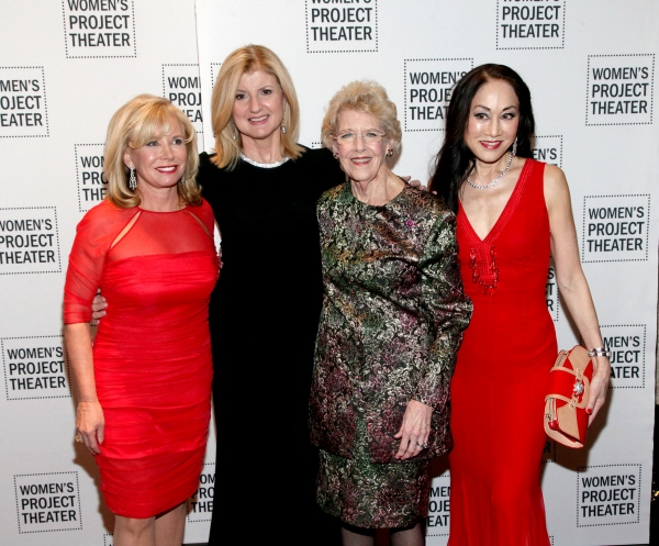 Sharon Bush, Arianna Huffington, Joan Vail Thorne, Lucia Hwong-Gordon