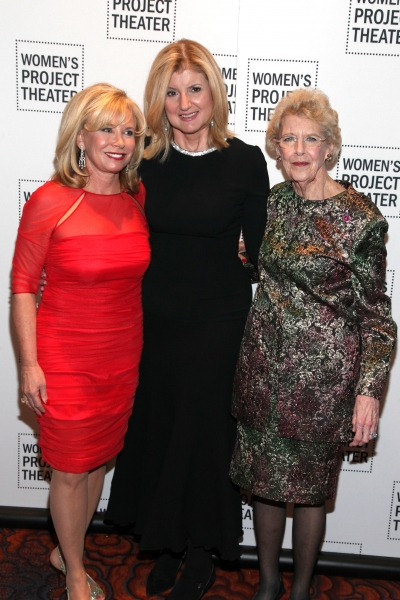 Sharon Bush, Arianna Huffington, Joan Vail Thorne