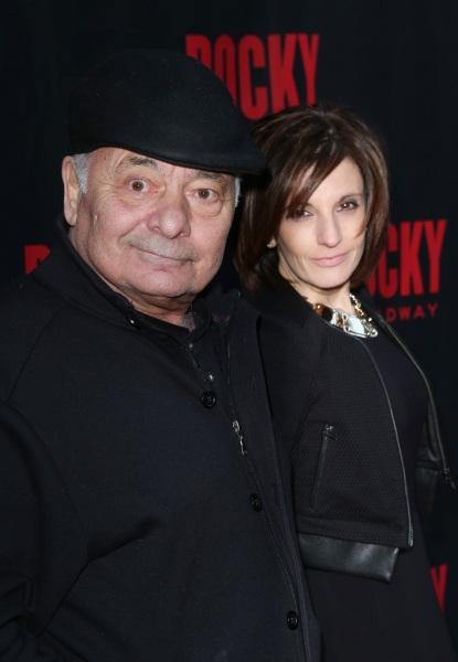 Burt Young and Lisa Scuteri