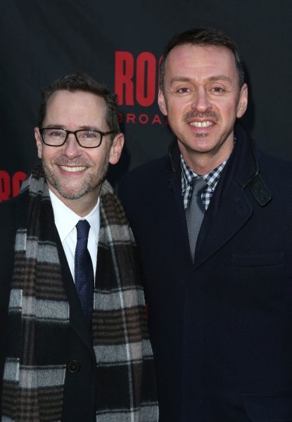 David Block and Andrew Lippa  Photo