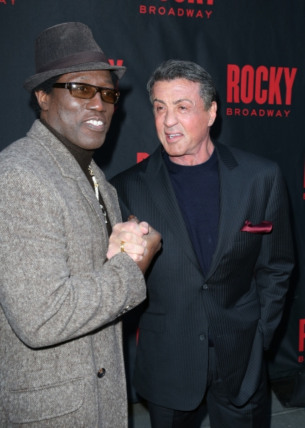 Wesley Snipes and Sylvester Stallone