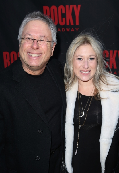 Alan Menken and daughter Anna Rose