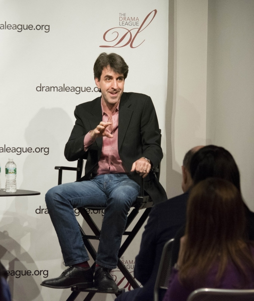 Photo Flash: Check Out Photos from the Drama League Conversation with Broadway Composer Jason Robert Brown