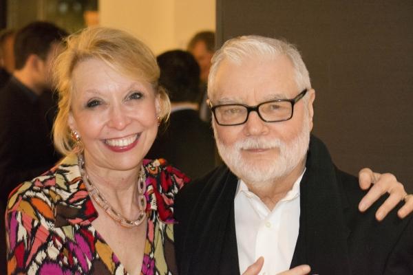 Julie Halston and her husband, Ralph Howard Photo