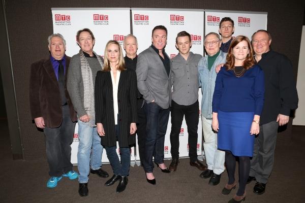 Playwright Harvey Fierstein, Larry Pine, Lisa Emery, Reed Birney, Patrick Page, Nick Westrate, John Cullum, Gabriel Ebert, Mare Winningham and Tom McGowan