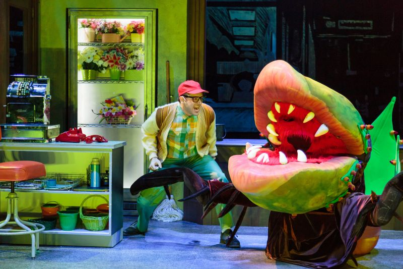 BWW Reviews: LITTLE SHOP OF HORRORS at ACT Feels a Little Anemic