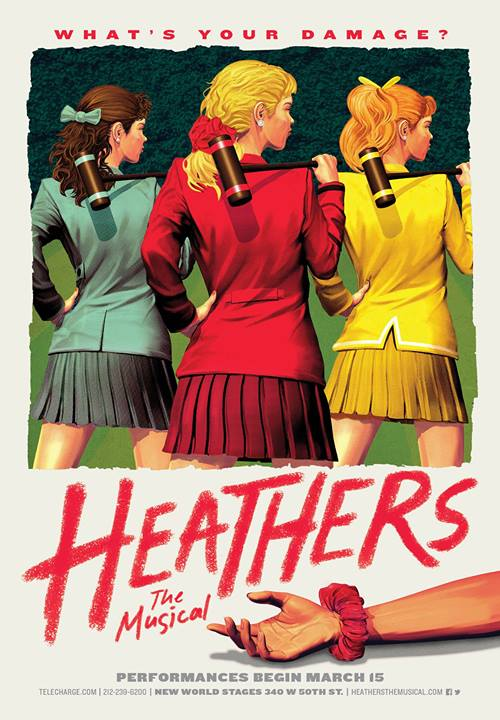 Sassy HEATHERS: THE MUSICAL Greeting Card Now Available For Download