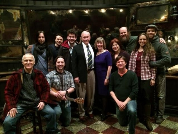 Photo Flash Exclusive: General Martin Dempsey Visits Broadway's ONCE