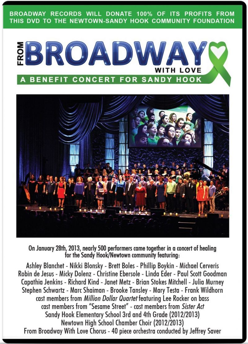 BWW DVD Reviews: FROM BROADWAY WITH LOVE: A BENEFIT CONCERT FOR SANDY HOOK Showcases Contemporary Broadway Talent
