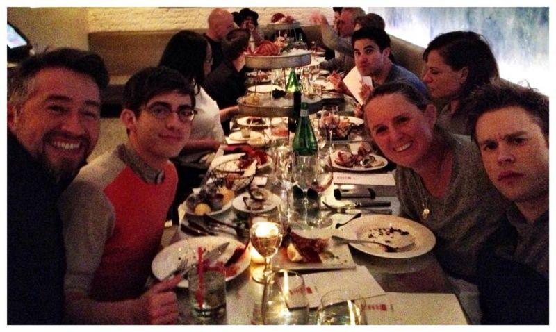 Lea Michele, Darren Criss, Amber Riley & More Film GLEE In NYC