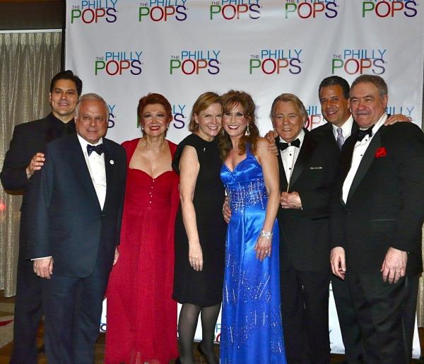 Doug LaBrecque, Philly POPS President Frank Giordano, Terre Blair Hamlisch, Jodi Bens Photo