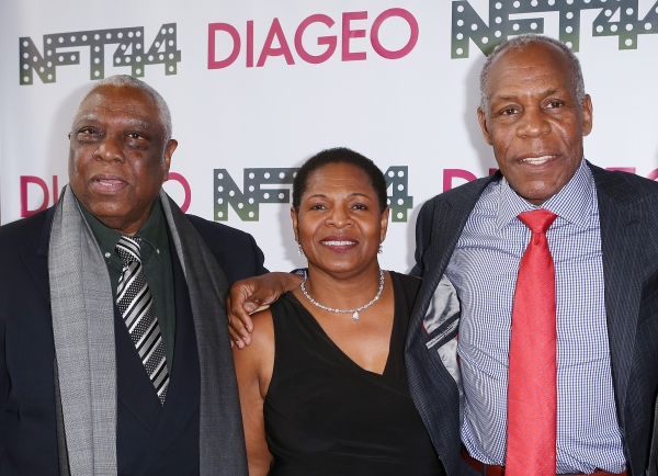 Woodie King Jr., Valerie Graves and Danny Glover